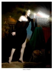 Me at Pandora's Box, Eisman Photoshoot.
