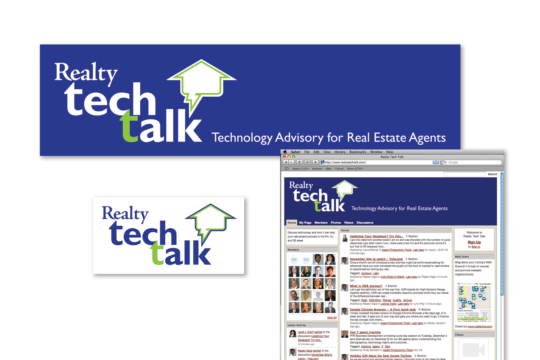 Web BlogDesign, Realty Tech Talk